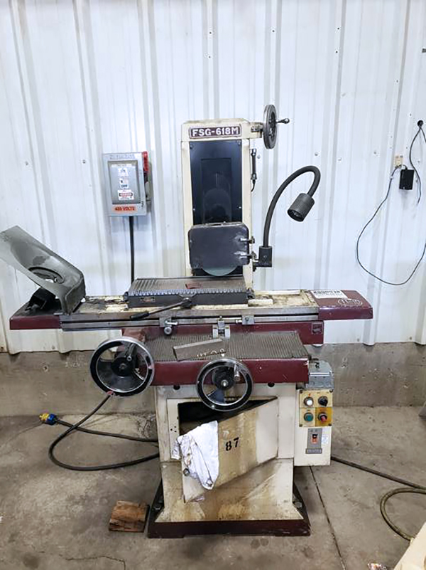 Used Surface Grinders Chevalier FSG-618M 1990