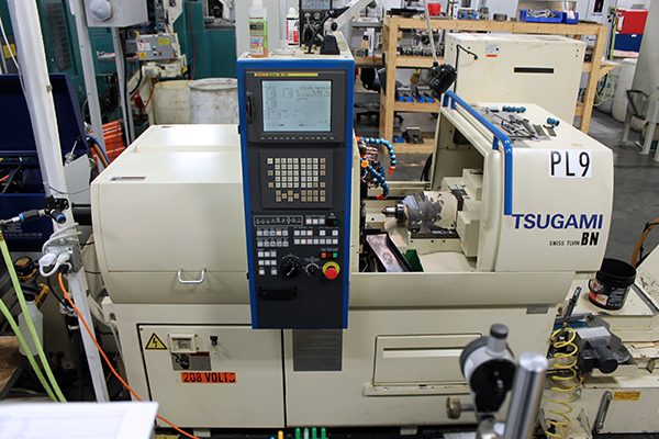Used Swiss Lathe Tsugami BN20 2006