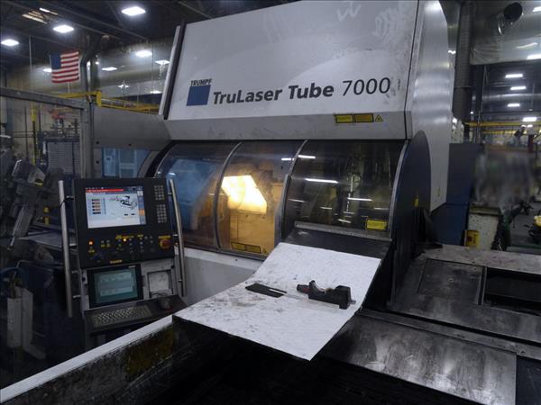 Used Tube Laser Trumpf TruLaser Tube 7000 2011