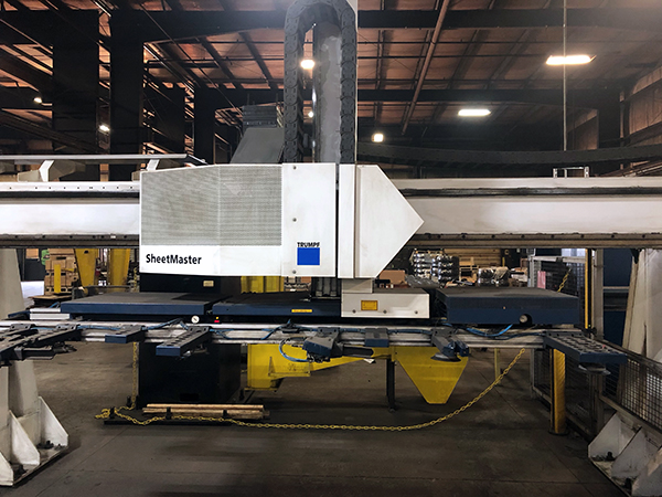 Used Turret Punch Trumpf 5000 2015