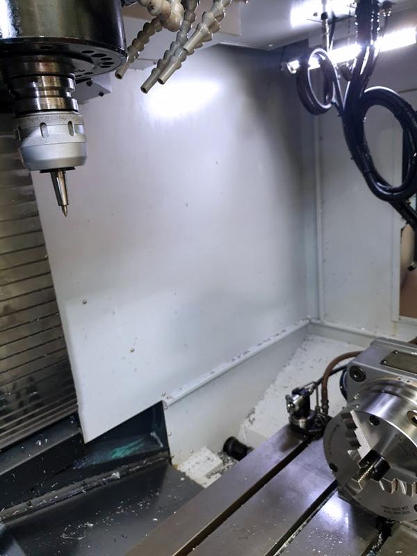 Used Vertical Machining Center Doosan DVM650II 2017