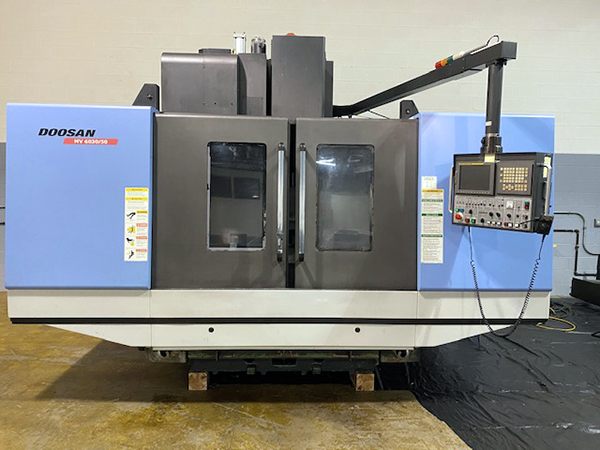 Used Vertical Machining Center Doosan MV 6030/50 2008