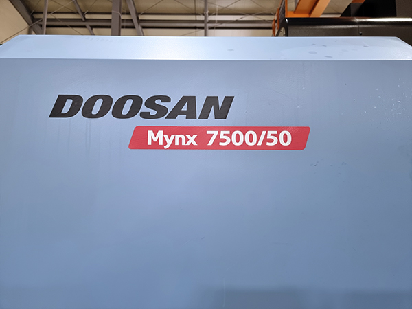 Used Vertical Machining Center Doosan Mynx 7500/50 2012