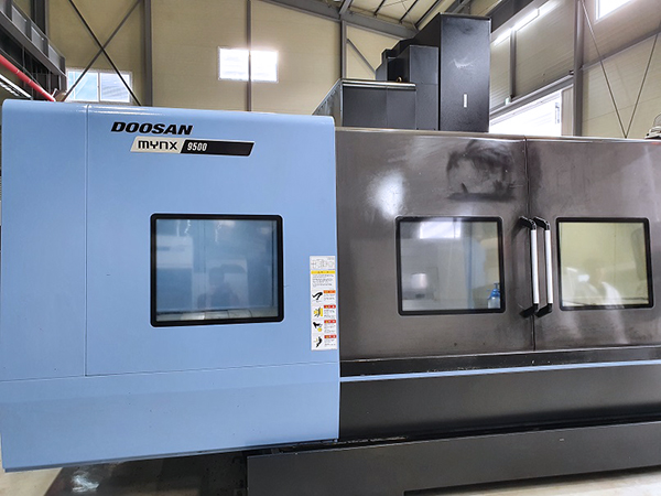 Used Vertical Machining Center Doosan Mynx 9500/50 2017