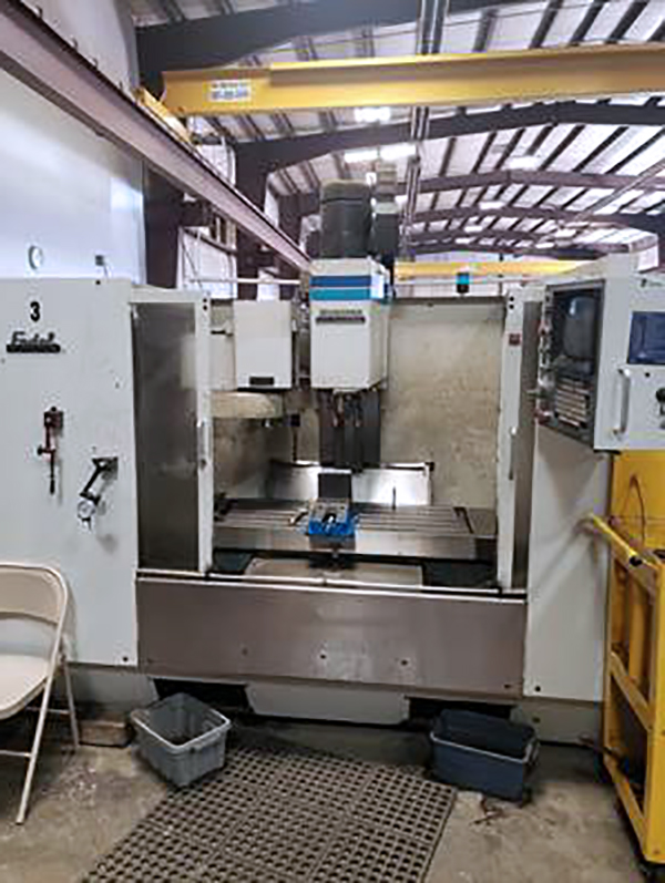 Used Vertical Machining Center Fadal 4020 1992