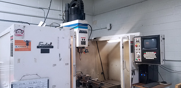 Used Vertical Machining Center Fadal VMC4020HT 1996