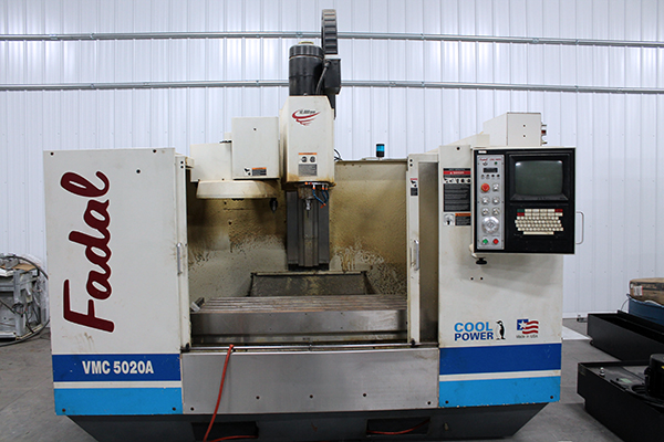 Used Vertical Machining Center Fadal VMC5020AHT 1999