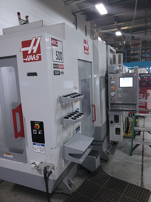 Used Vertical Machining Center Haas MDC-500 2005
