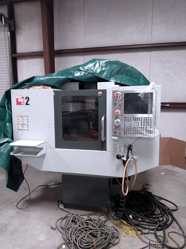 Used Vertical Machining Center Haas Mini Mill 2 2015