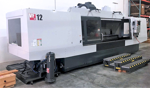 Used Vertical Machining Center Haas VF-12/40 2019