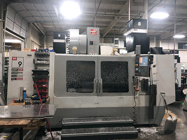 Used Vertical Machining Center Haas VF-9/40 2010