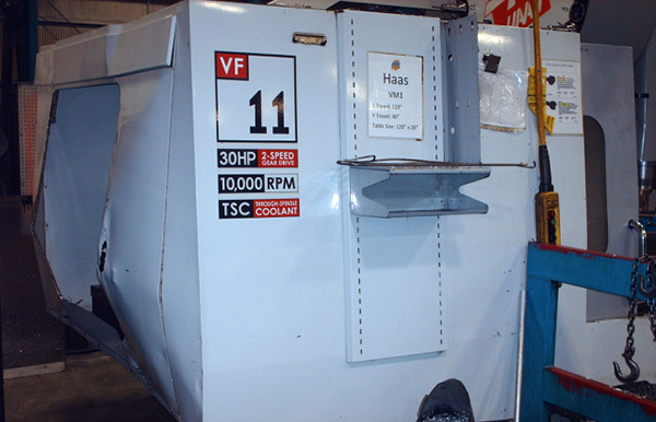Used Vertical Machining Center Haas VF11 2007