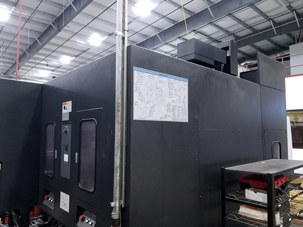Used Vertical Machining Center Mazak Variaxis 630-5XII 2007