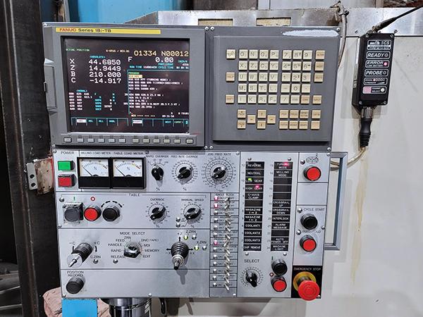 Used Vertical Machining Center O-M VTLEX 1600M 2009