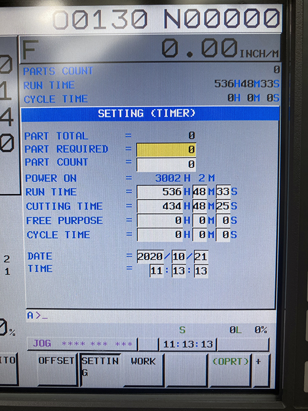 Used Vertical Machining Center Samsung PCV 400 2017