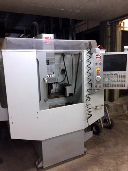 Used Vertical Machining Center Haas Super Mini Mill 2008